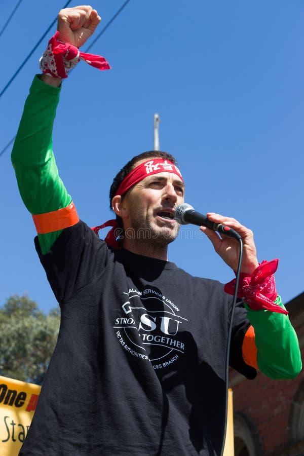 Download Πάρτε τη συνάθροιση της Αυστραλίας - Melton Εκδοτική Στοκ Εικόνα - εικόνα από αστυνομία, διαμαρτυρία: 62720189