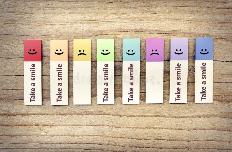 Πάρτε τις αγγελίες χαμόγελου στοκ εικόνες με δικαίωμα ελεύθερης χρήσης
