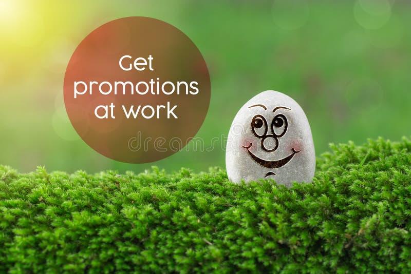Πάρτε τις προωθήσεις στην εργασία στοκ εικόνες με δικαίωμα ελεύθερης χρήσης