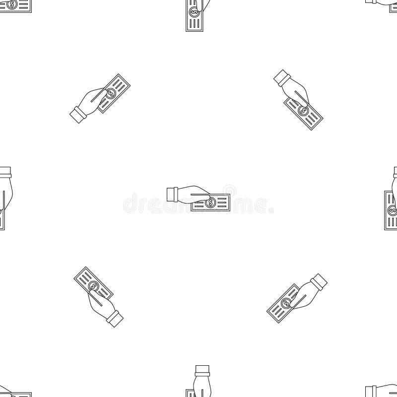 Πάρτε το άνευ ραφής διάνυσμα φορολογικών σχεδίων ελεύθερη απεικόνιση δικαιώματος