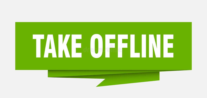 πάρτε off-$l*line ελεύθερη απεικόνιση δικαιώματος
