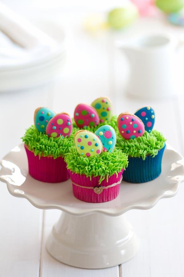 Πάσχα cupcakes στοκ φωτογραφία με δικαίωμα ελεύθερης χρήσης