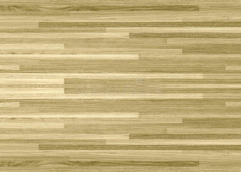 Πάτωμα γήπεδο μπάσκετ σφενδάμνου σκληρού ξύλου που αντιμετωπίζεται άνωθεν ελεύθερη απεικόνιση δικαιώματος
