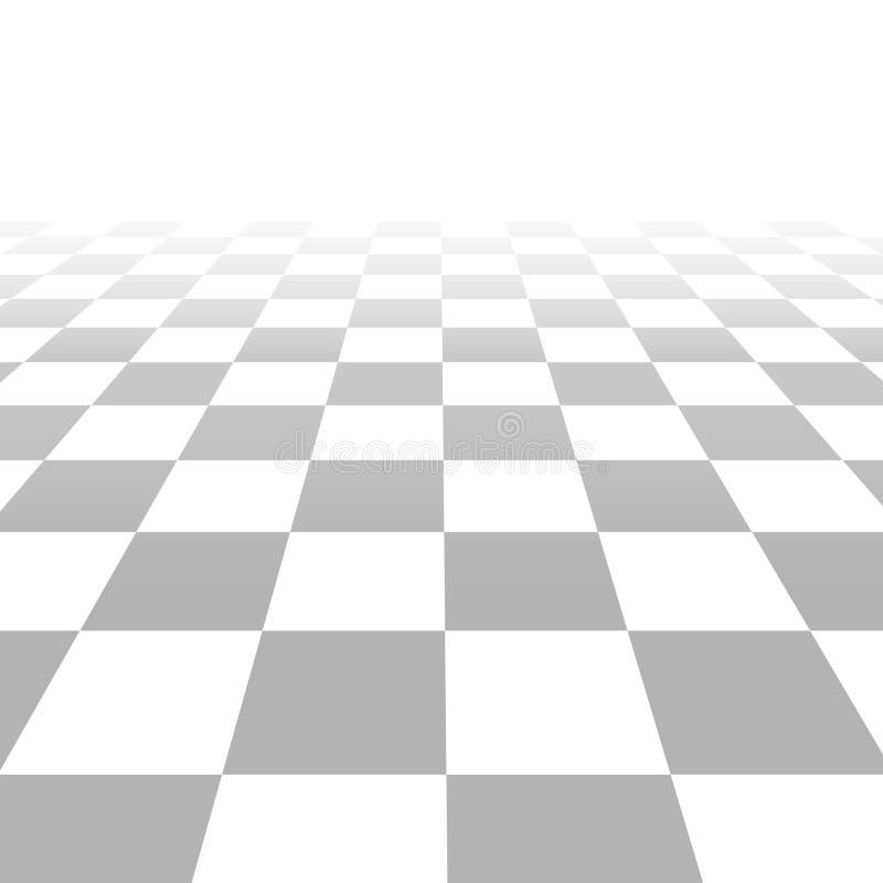 Πάτωμα με τα κεραμίδια, διανυσματικό υπόβαθρο πλέγματος προοπτικής διανυσματική απεικόνιση