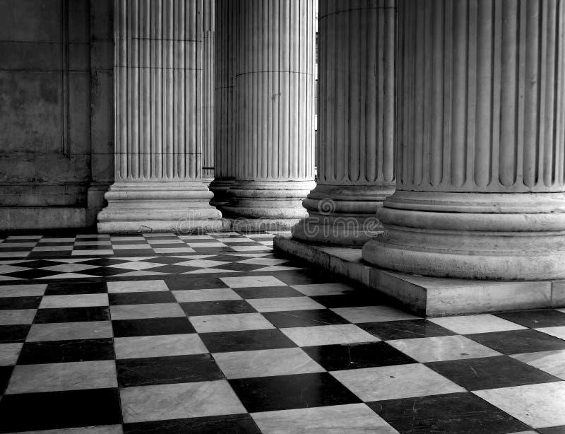 πάτωμα pauls ST καθεδρικών ναών πο& στοκ φωτογραφία με δικαίωμα ελεύθερης χρήσης