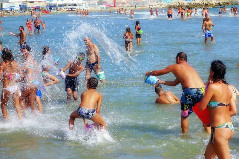 Πάλη του νερού στοκ φωτογραφία με δικαίωμα ελεύθερης χρήσης