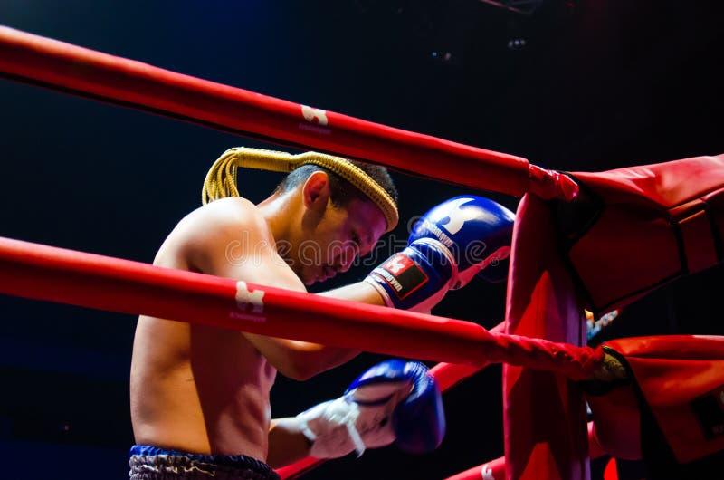 Πάλη Krudam #4 την ημέρα Muaythai στοκ φωτογραφία
