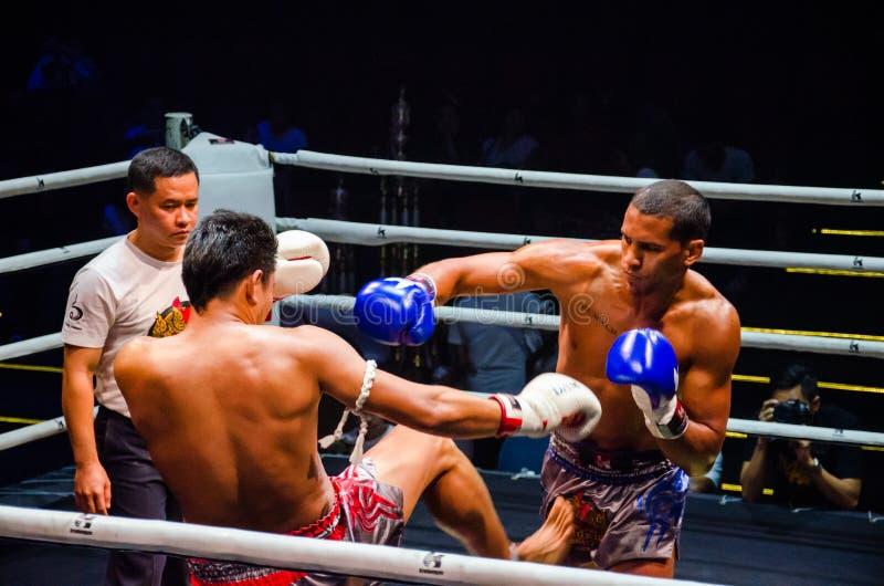 Πάλη Krudam #4 την ημέρα Muaythai στοκ φωτογραφίες