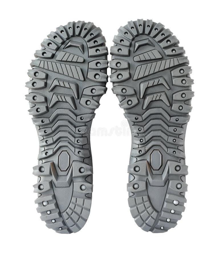 πέλμα παπουτσιών πεζοπορί& στοκ εικόνες