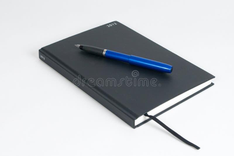 πέννα ημερολογίων του 2012 στοκ φωτογραφία με δικαίωμα ελεύθερης χρήσης