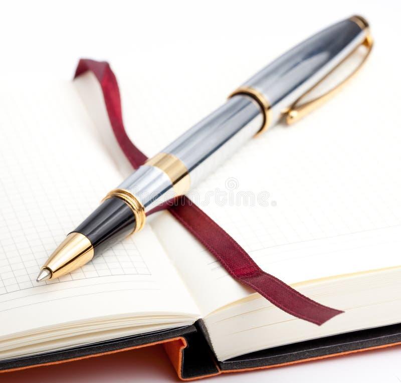 πέννα σημειωματάριων σελι& στοκ εικόνες με δικαίωμα ελεύθερης χρήσης