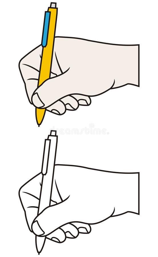 πέννα χεριών ελεύθερη απεικόνιση δικαιώματος