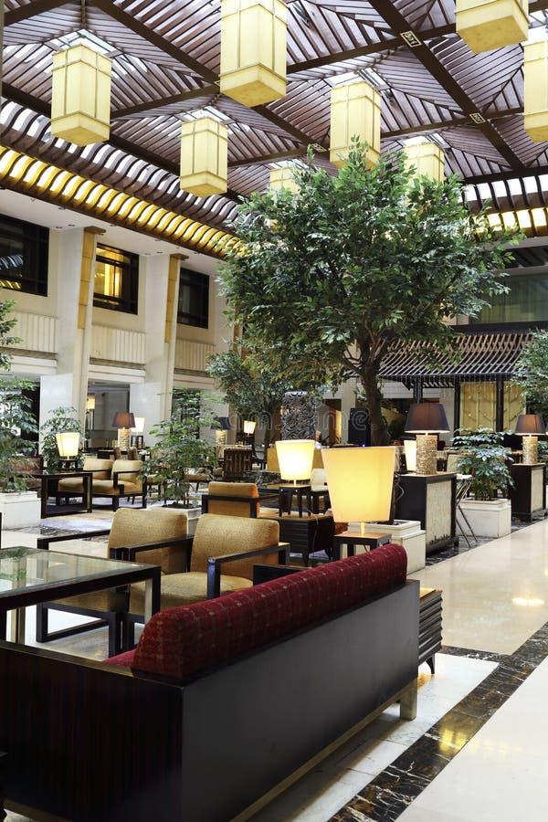 Πέντε αστέρων φραγμός καφέ ξενοδοχείων στοκ φωτογραφία με δικαίωμα ελεύθερης χρήσης