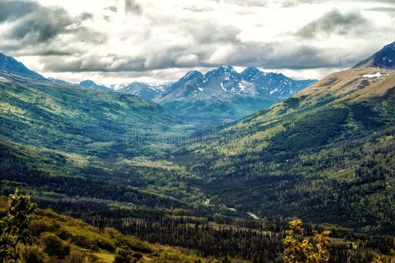 Πέρασμα της Αλάσκας Hatcher στοκ φωτογραφίες