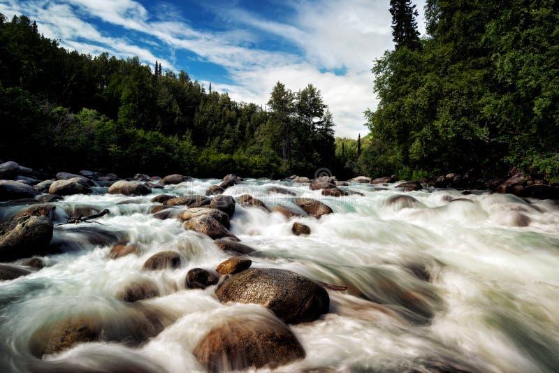 Πέρασμα της Αλάσκας Hatcher στοκ φωτογραφία