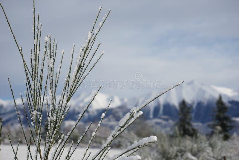 Πέρασμα Arthurs στο χιόνι στοκ εικόνα με δικαίωμα ελεύθερης χρήσης