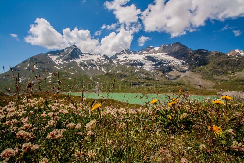 Πέρασμα Bernina στοκ εικόνα με δικαίωμα ελεύθερης χρήσης