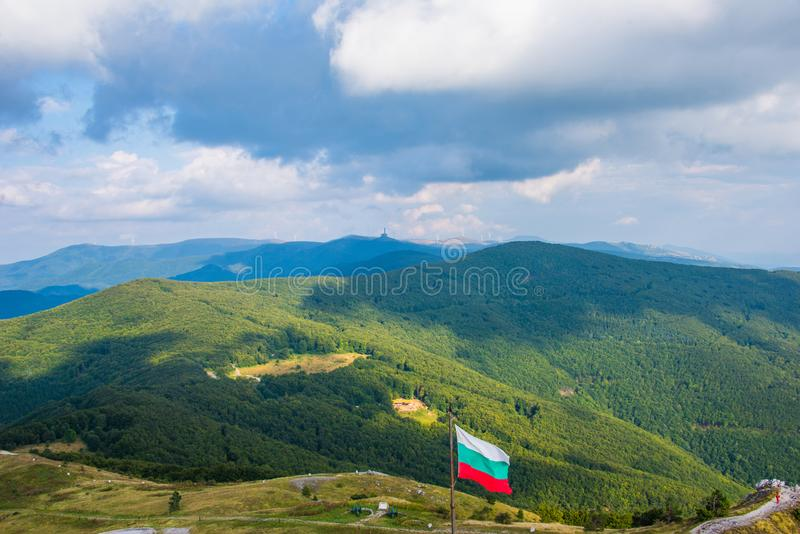 Πέρασμα Shipka στη Βουλγαρία στοκ φωτογραφία