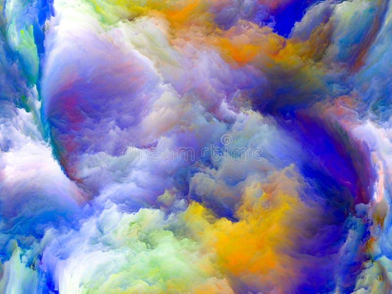 Πέρα από την κίνηση χρώματος ελεύθερη απεικόνιση δικαιώματος