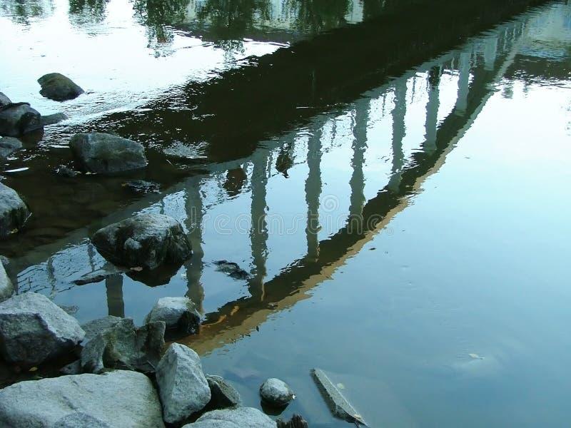 πέρα από τον ποταμό στοκ φωτογραφία με δικαίωμα ελεύθερης χρήσης
