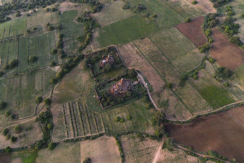Πέρα από τους ναούς Bagan στοκ εικόνες