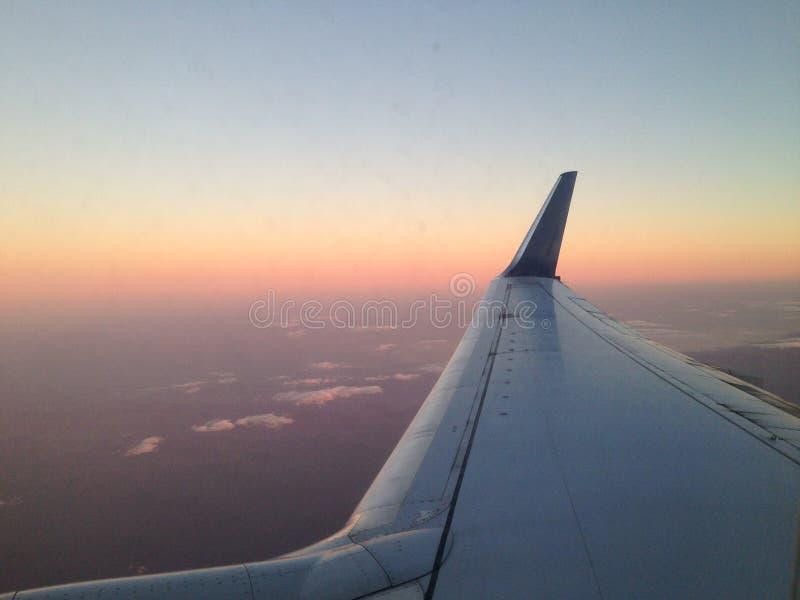 πέταγμα αεροπλάνων που απομονώνεται photoshop στοκ εικόνα με δικαίωμα ελεύθερης χρήσης