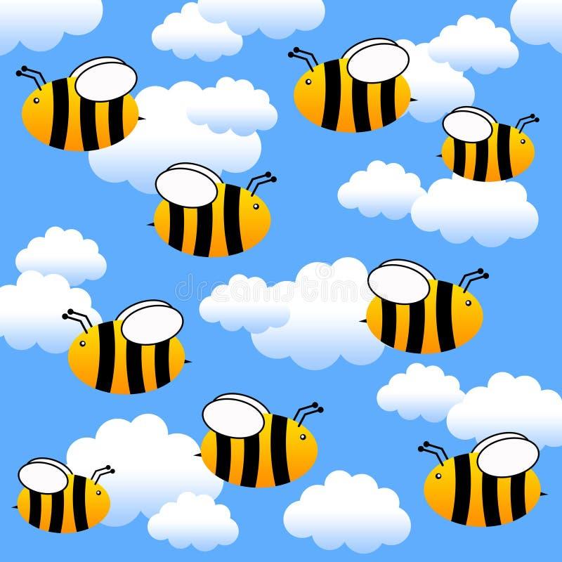 πέταγμα μελισσών ελεύθερη απεικόνιση δικαιώματος