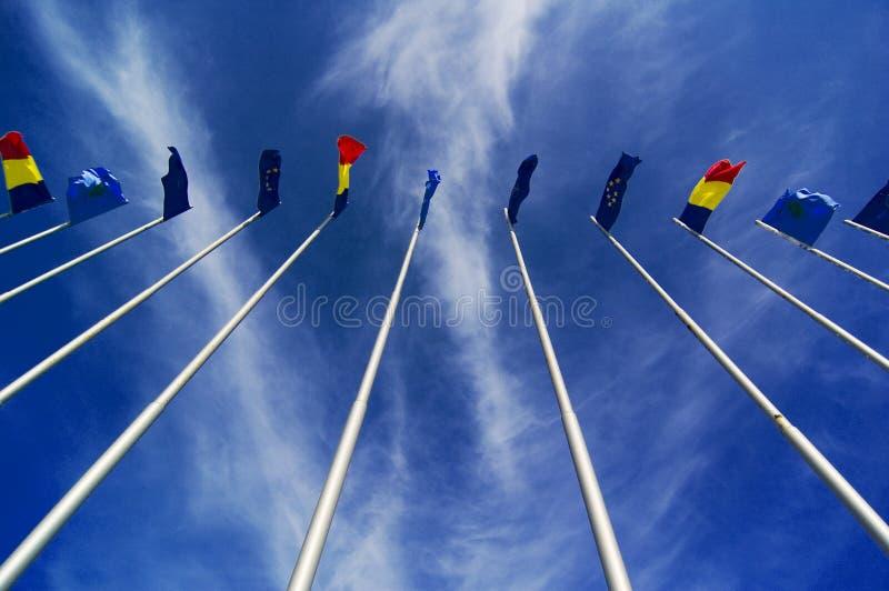 πέταγμα σημαιών αερακιού στοκ φωτογραφία με δικαίωμα ελεύθερης χρήσης
