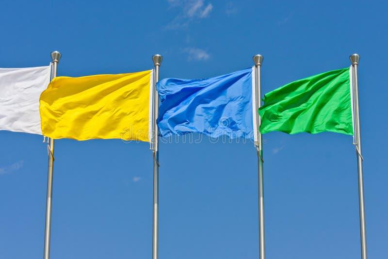πέταγμα σημαιών στοκ φωτογραφία
