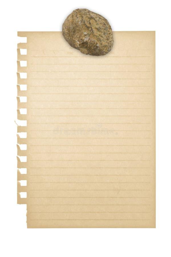 πέτρα εγγράφου στοκ εικόνες