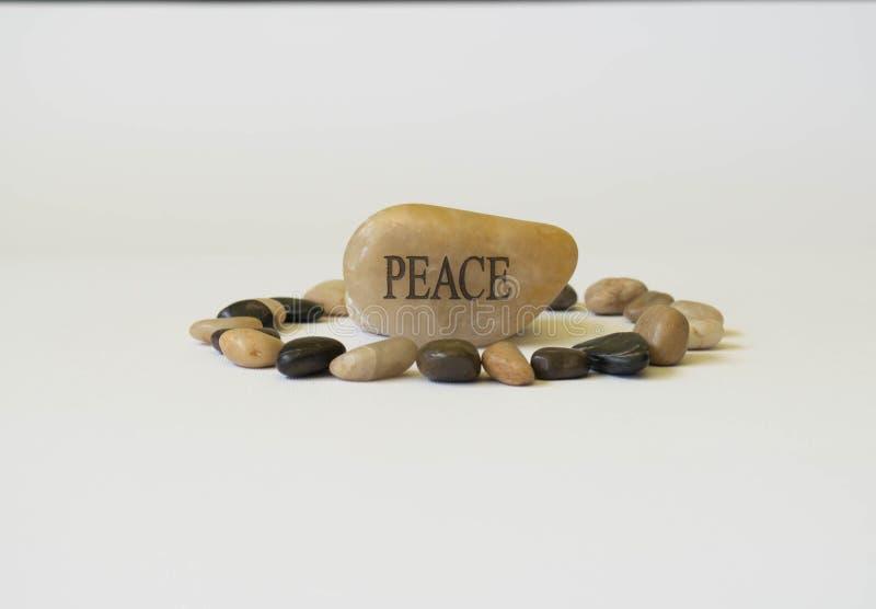 Πέτρα ειρήνης στοκ εικόνα