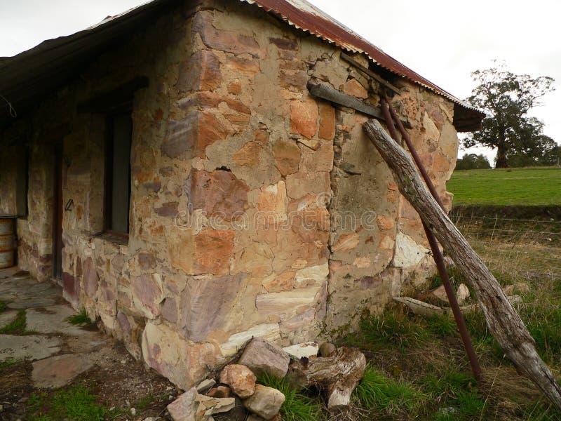 πέτρα εξοχικών σπιτιών στοκ εικόνα