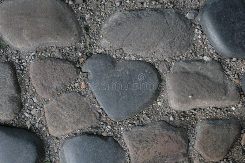Πέτρα καρδιών στοκ εικόνα
