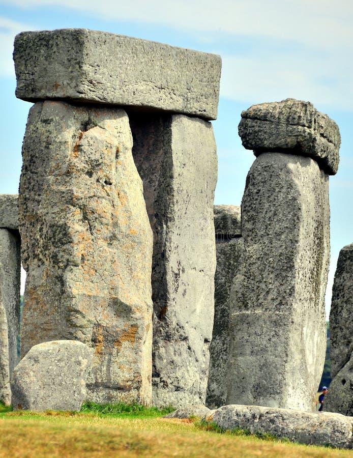 πέτρα λεπτομέρειας henge στοκ εικόνα