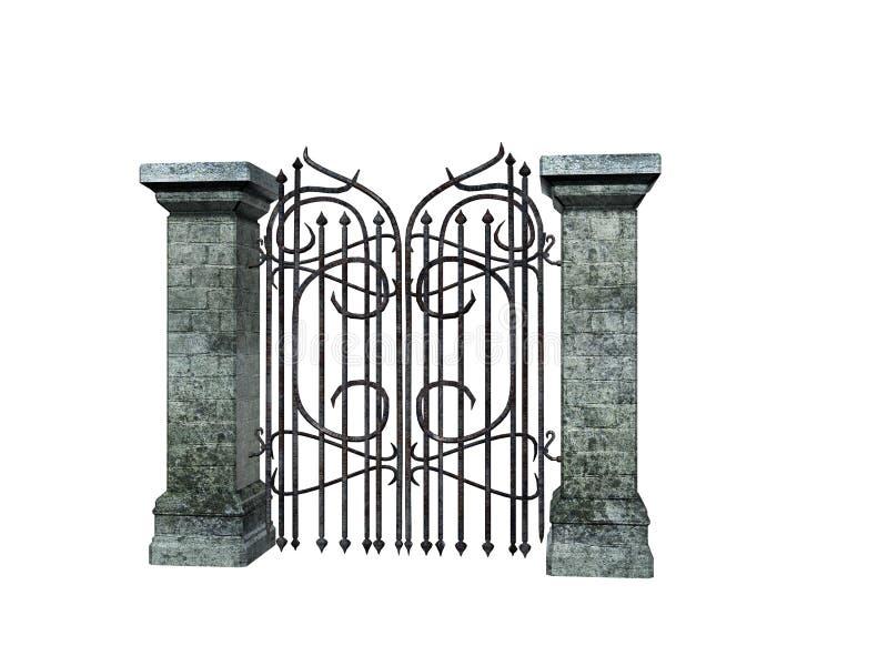 πέτρα πυλών ελεύθερη απεικόνιση δικαιώματος