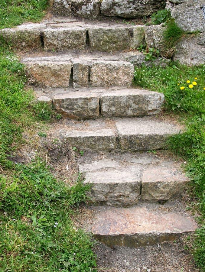 πέτρα σκαλοπατιών στοκ εικόνες