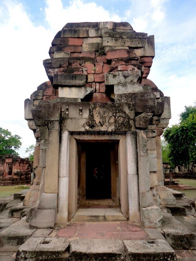 Πέτρα Castle Panomwan στοκ φωτογραφία με δικαίωμα ελεύθερης χρήσης