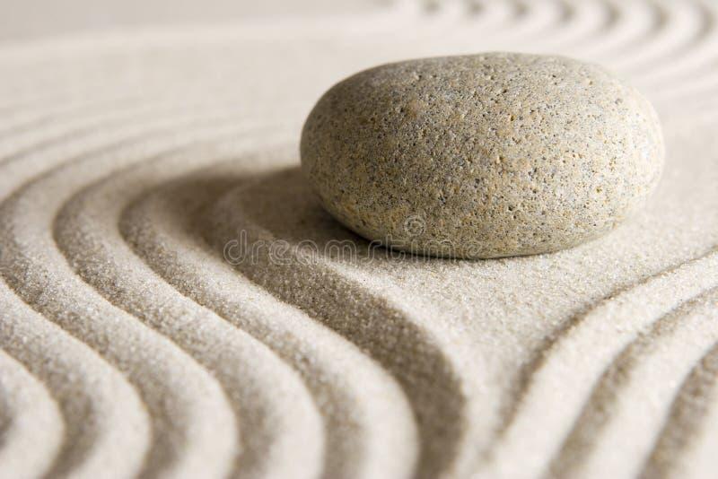 πέτρα zen στοκ εικόνα