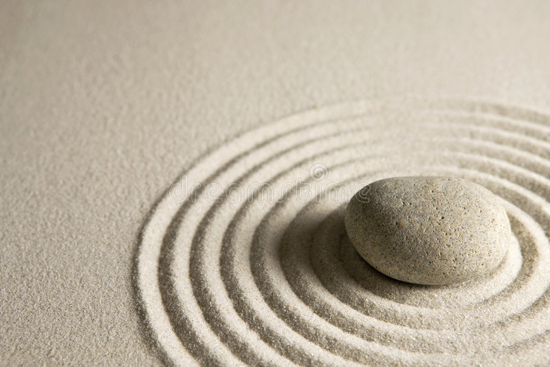 πέτρα zen στοκ φωτογραφία με δικαίωμα ελεύθερης χρήσης