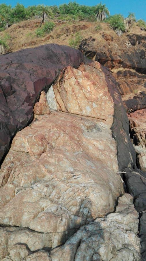 Πέτρες γραπτές, σύσταση, υπόβαθρο στοκ εικόνα με δικαίωμα ελεύθερης χρήσης