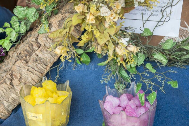 Πέτρες μυρωδιάς Aromatherapy στοκ εικόνα με δικαίωμα ελεύθερης χρήσης
