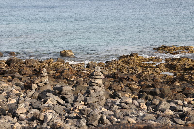 Πέτρες πορειών στοκ εικόνα