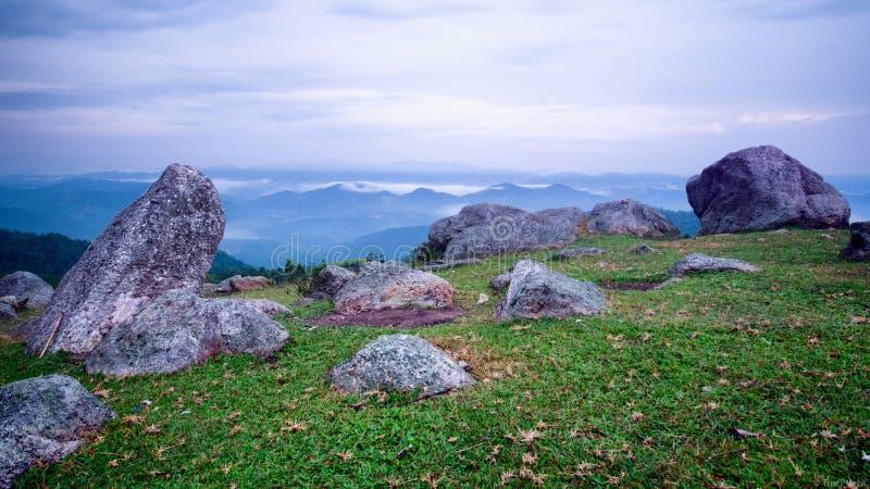 Πέτρες στα βουνά στοκ εικόνα με δικαίωμα ελεύθερης χρήσης