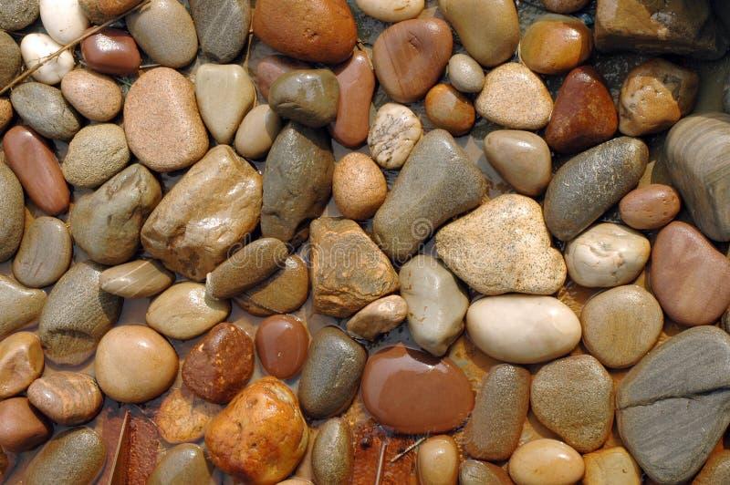 πέτρες υγρές στοκ εικόνες με δικαίωμα ελεύθερης χρήσης