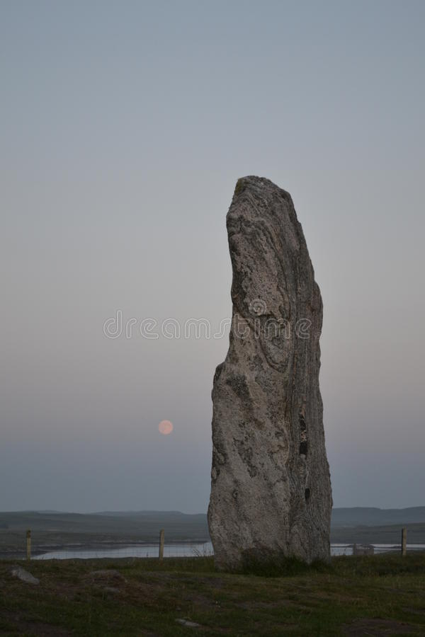 Πέτρες Callanish στοκ εικόνες με δικαίωμα ελεύθερης χρήσης