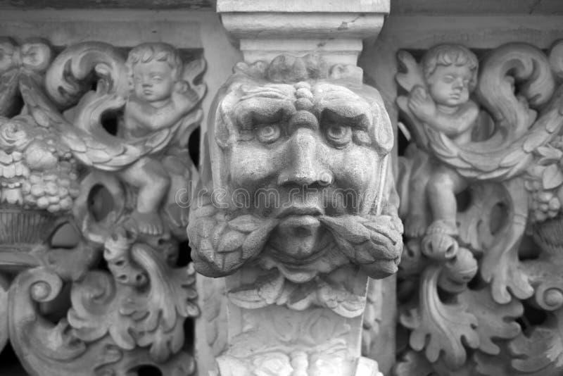 Πέτρινες bas-ανακουφίσεις του Γντανσκ στοκ φωτογραφία