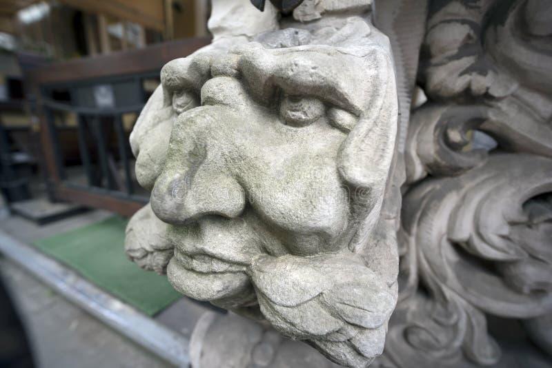 Πέτρινες bas-ανακουφίσεις του Γντανσκ στοκ εικόνες με δικαίωμα ελεύθερης χρήσης