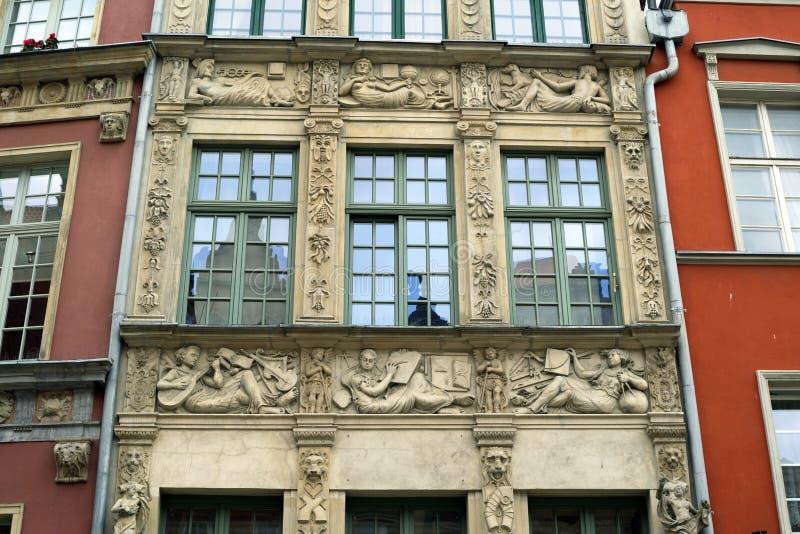 Πέτρινες bas-ανακουφίσεις του Γντανσκ στοκ εικόνα με δικαίωμα ελεύθερης χρήσης