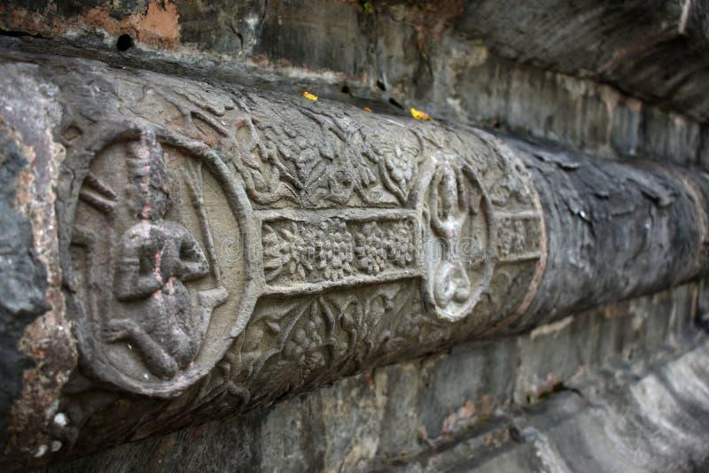 Πέτρινη αρχιτεκτονική του Σίβα Ντολ της Sivasagar, Ασσάμ, Ινδία στοκ εικόνες με δικαίωμα ελεύθερης χρήσης