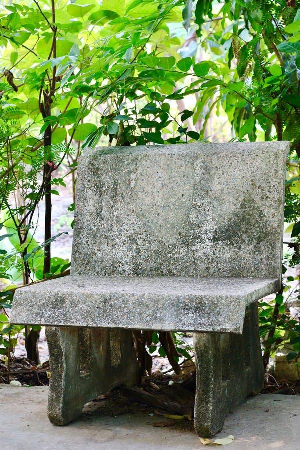 Πέτρινη καρέκλα στοκ φωτογραφία